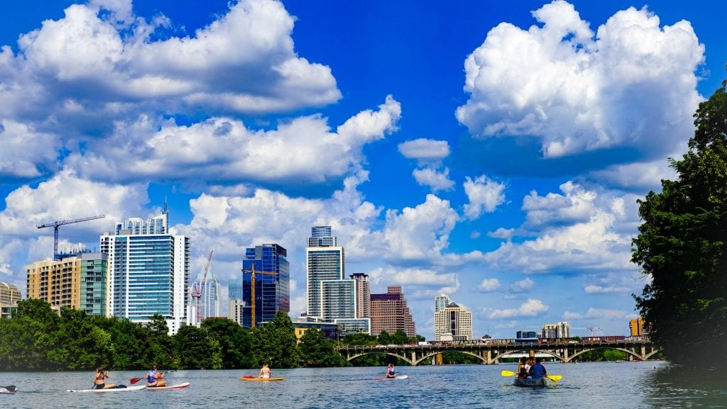 Austin texas river