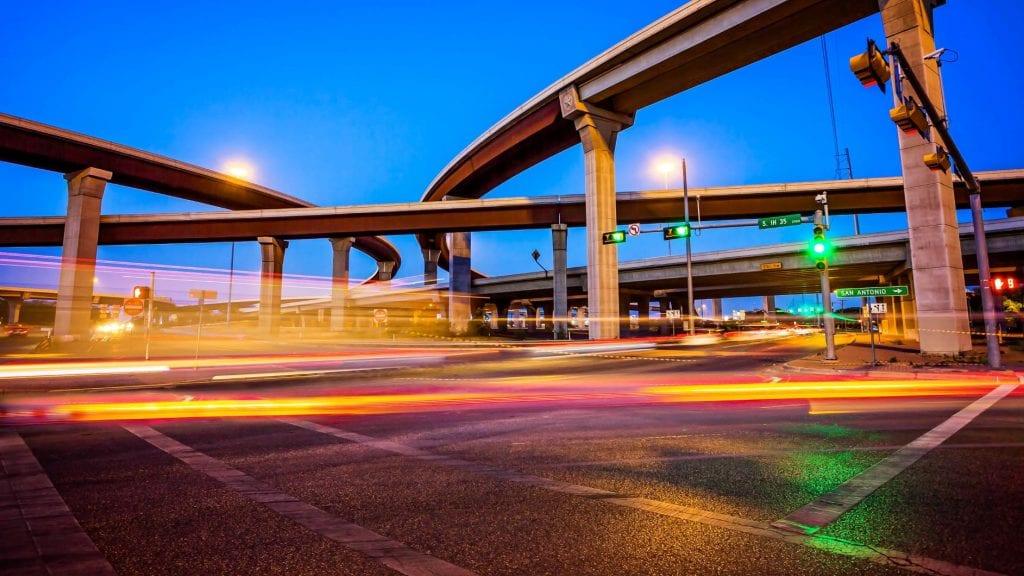 Highway in Austin Texas