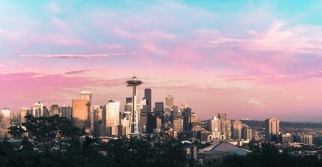 Skyline of Seattle that makes you think about The Best Emerging Neighborhoods in Seattle